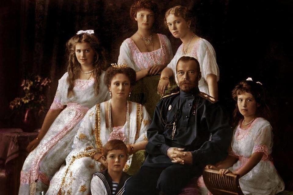 Картинки николай 2 и его семья